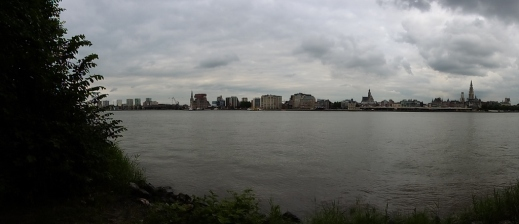Antwerp skyline...