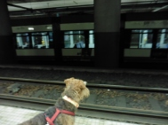 Metro in the wrong direction!